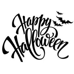 halloween dibujos Silhouette Design Store: Happy Halloween With Bats Phrase Halloween Stencils, Halloween Vinyl, Happy Halloween Banner, Halloween School Treats, Halloween Party Supplies, Halloween Clipart, Halloween Signs, Holidays Halloween, Halloween Pumpkins