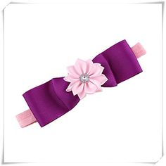 Smile Fashion Baby Toddler Girls Kids Flower Hair Band Headband Accessories HB1002 -- See this great product.