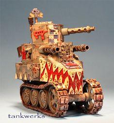 grot tank, Orks, 40k