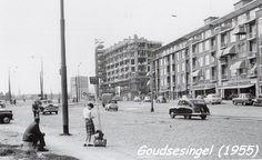 Rotterdam - Goudsesingel, 1955