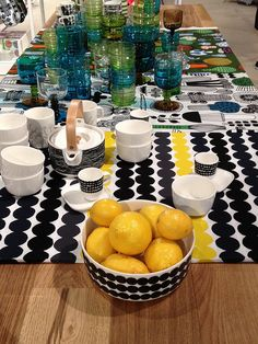 Marimekko Scandinavia Design, Marimekko, Finland, Moroccan, Room Ideas, Dining Room, Wedding Ideas, Colours, Decoration