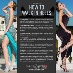 Can't seem to master the art of walking in heels? We've got the perfect guide for you!