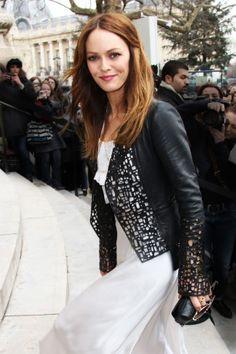 Vanessa Paradis, I <3 that jacket