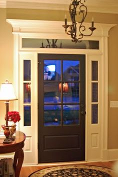 I want this door! And I'll paint it black (or brick red) on the inside!!!
