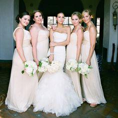 Bridal party // photo: Yvette Roman Photography