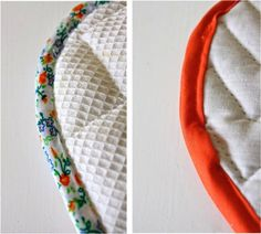Hotpads + attaching bias tape – MADE EVERYDAY