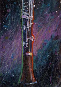 Painted Oboe