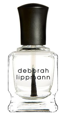 In a hurry? Apply a layer of�Deborah Lippmann Addicted to Speed Top Coat�over your freshly-finished mani and head out the door�it's as easy as that. No need to worry about what you touch! This super shiny formula dries within a few minutes. via @stylelist