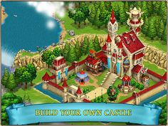'Fairy Kingdom - Build your magic story!' in de App Store