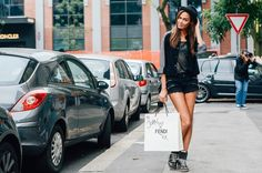 Tommy Ton Street-Style Photos - Spring 2015 Fashion Shows - Vogue