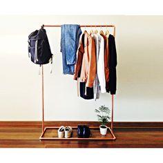 Kleiderständer Selber Bauen garderobenständer diy kleiderständer selber bauen recyceln