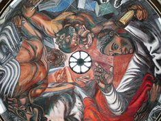 Más de veinte dibujos inéditos del muralista mexicano integran la muestra ''La gran legislación revolucionaria mexicana''