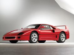 1 of 8 1987 Ferrari F40 prototypes [chassis 74049]