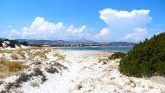a picture of capo comino beach