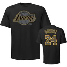 d45e34f04 Kobe Bryant Los Angeles Lakers Youth Black Out Name  amp  Number T-Shirt   18.69