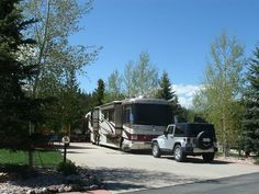 Never get tired of these views! Tiger Run RV Resort in Breckenridge Colorado… a full service luxury RV Park with the most extraordinary location cradled between the Swan and Blue Rivers. Unique sightseeing, shopping, outdoor sports, scenic trails and paved bike paths… Camping, RVing or just a road trip, this is the way to enjoy Colorado!