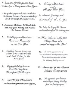 49 best qoutes images on pinterest christmas sentiments card sample christmas card greetings christmas card sayings christmas card wording ideas storkie what to write in a christmas card christmas card messages m4hsunfo