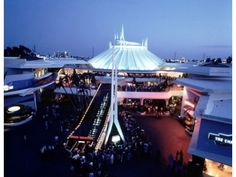 Space Mountain opened May 27, 1977  Disneyland's 2nd rollercoaster.