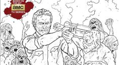Color in your favorite corpses with 'The Walking Dead' coloring book