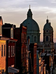 The Sun Sets on Polish Hill by Matt Niemi, via Flickr