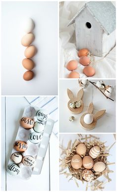 Neutral Easter Inspiration Board