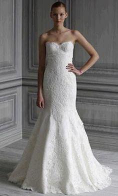 Monique Lhuillier Wedding Dress Florence, Size 4