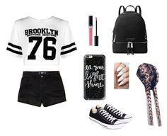 """🔥🔥"" by camibernardez ❤ liked on Polyvore featuring Boohoo, Casetify, Hollister Co., Converse, MICHAEL Michael Kors and Christian Dior"