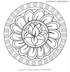 Coloring Pages - Coloring Home Pages Mandalas Painting, Mandalas Drawing, Mandala Coloring Pages, Colouring Pages, Adult Coloring Pages, Coloring Books, Mandala Pattern, Mosaic Patterns, Embroidery Patterns