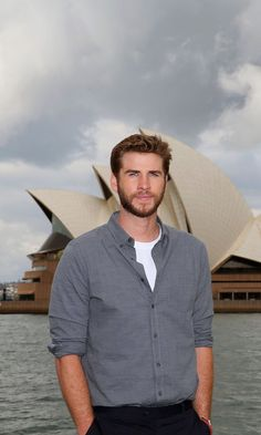 Pin for Later: Liam Hemsworth's Photo Shoot in Australia Will Make Your Mouth as Dry as the Outback