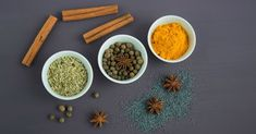 22 Common Herbs and Spices in Asian Cuisine - Ayurveda Rezepte Ayurveda, Ayurvedic Diet, Chef Cuistot, Bebidas Detox, Turmeric Health Benefits, Healthy Soup Recipes, Eat Healthy, Healthy Living, Quick Recipes