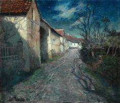 Moonlight in Beaulieu Fritz Thaulow - Date unknown
