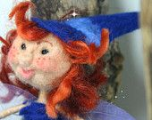 unique one off Irish Felt Fairy Doll - Fairy Doll - Irish Felt Fairy