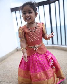 Source by someswarao Blouses Kids Party Wear Dresses, Kids Dress Wear, Kids Gown, Dresses Kids Girl, Kids Outfits, Kids Wear, Baby Dresses, Fancy Dress, Kids Frocks Design