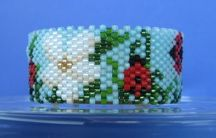Ladybugs Tea Light Cover by Diane Masters AKA Phoenix Wolf Creations