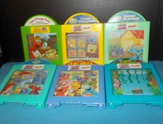 Lot of 6 F/P Through Music Plus Cartridges Disney Sesame Nick jr Blue's Room + #FisherPrice