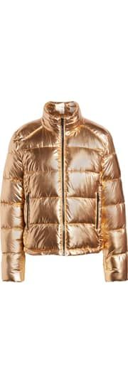 2bca10b3ef03 Marc New York Metallic Puffer Jacket | Nordstrom
