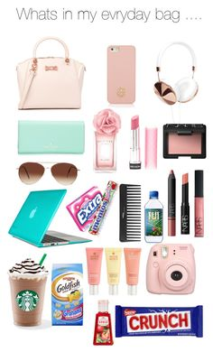 """Whats in my bag ..."" by xxsimran-xx ❤ liked on Polyvore"
