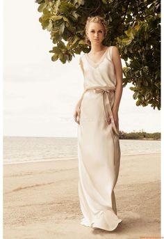 Elegant V-neck Sheath Court Train Wedding Dress China Rembo Styling Roxanne 2013