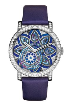 Diamond Watches Ideas : Nineties, Grunge vs. Glam - Watches Topia - Watches: Best Lists, Trends & the Latest Styles Amazing Watches, Beautiful Watches, Lapis Lazuli, Timex Watches, Wrist Watches, Audemars Piguet, High Jewelry, White Gold Diamonds, Luxury Watches