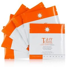 """""""Towels aren't just for the beach — they can assist in achieving glowing skin, sans sun."""" - TanTowel Full Body Classic Review"""