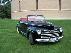 Biff Tannen's 1946 Ford Super De Luxe Convertible Club Coupe from Back to the Future