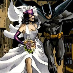 Catwoman and Batman <3  my favorite picture .