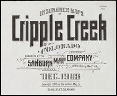 BibliOdyssey: Sanborn Fire Insurance Map Typography