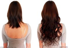 Buy Cheap Remy Clip In Hair Extensions (Straight & Wavy)