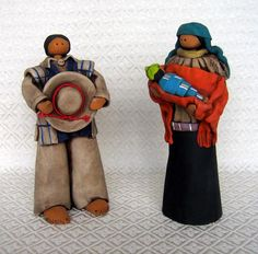 Nativity set from the Dominican Republic | World Nativity: Nativities from Third World and Developing Countries