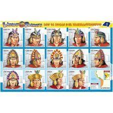 Los 14 Incas Y Sus Nombres Buscar Con Google Sailor Mars Inca Sailor
