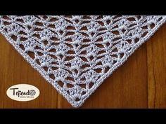 LILLA SHAWL Crochet Chart