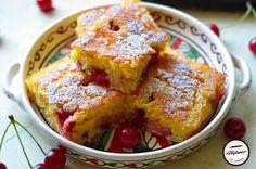 Malai cu visine | Prăjiturici și altele Baby Food Recipes, Dessert Recipes, Desserts, Sweet Cakes, French Toast, Recipies, Appetizers, Breakfast, Cherries
