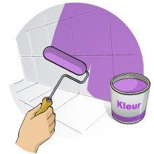 Plan-it by Praxis – Diy, Tuin, decoratie, bouwmaterialen- Tegels opnieuw schilderen -Badkamer