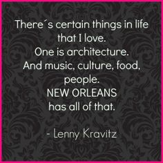 Lenny Kravitz knows why New Orleans should be on your bucket list  New Orleans: my Food Heaven